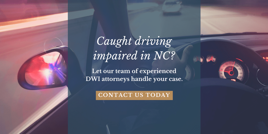 driving while impaired dwi north carolina