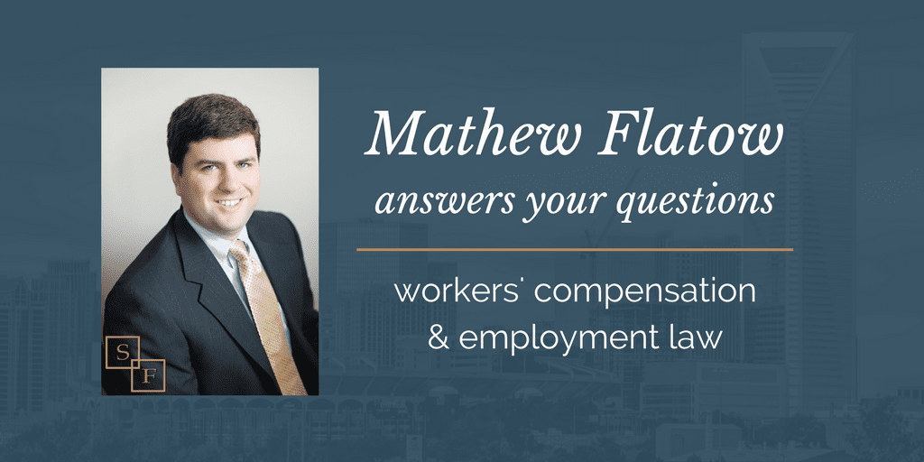 mathew answers employment law workers' compensation