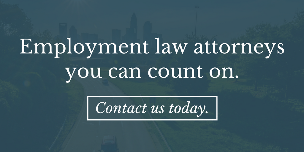employment law in NC