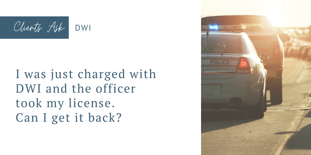charged with dwi