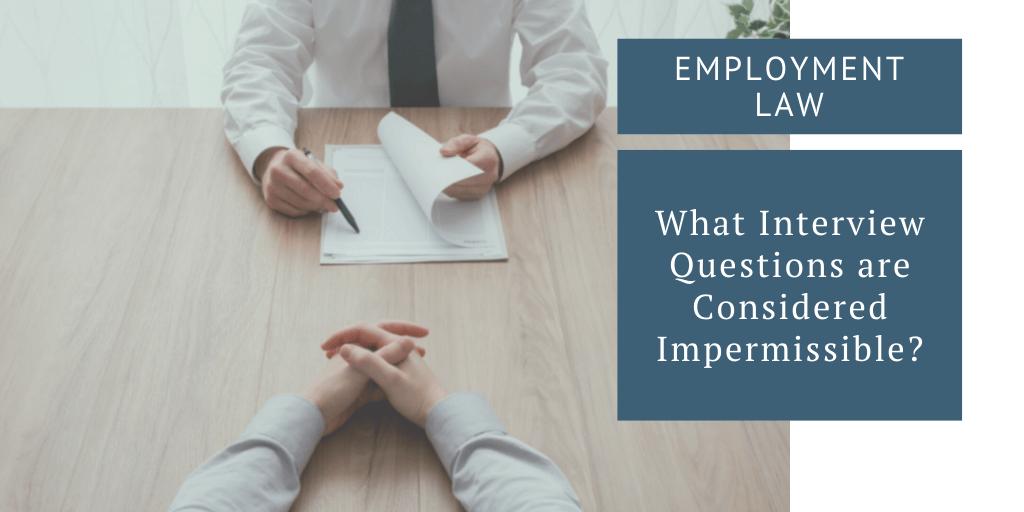 employment law job interview