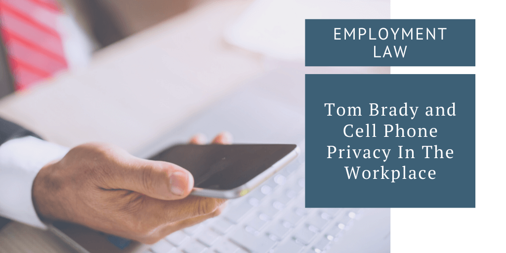 cell phone privacy in the workplace