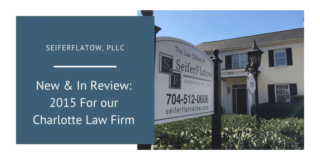 Experienced NC Attorneys in Charlotte
