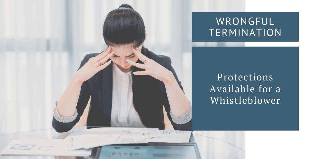 Protections Available for a Whistleblower