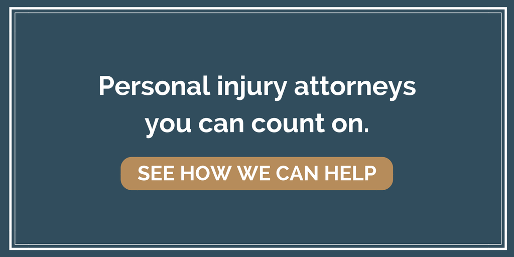 Personal injury attorney call to action