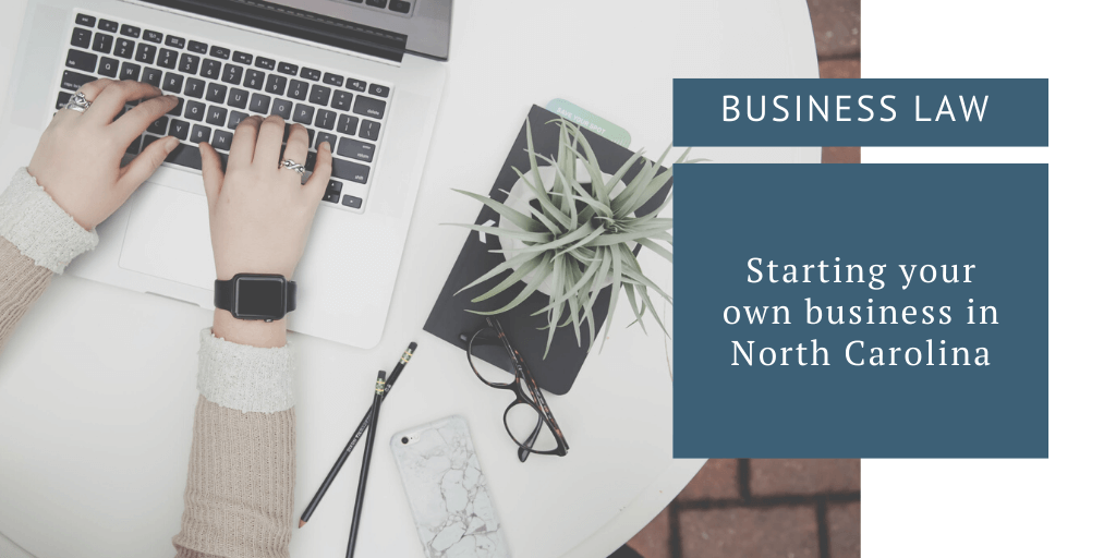 starting your own business in north carolina
