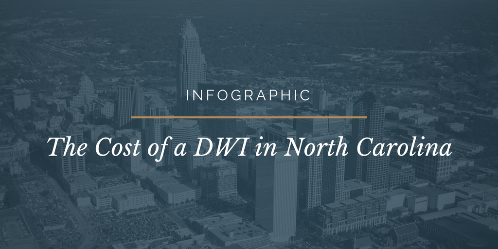 cost of a DWI in NC