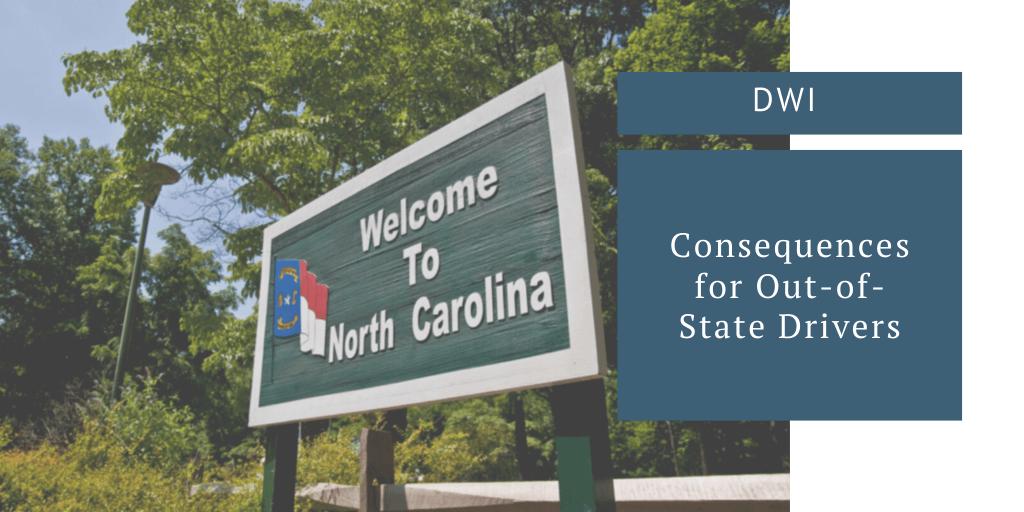 North Carolina DWI