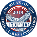 2018 Top 100 High Stakes Litigator