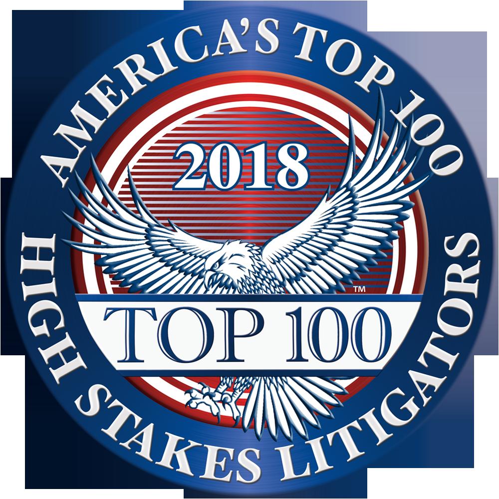 2018 Top 100 High Stakes Litigator