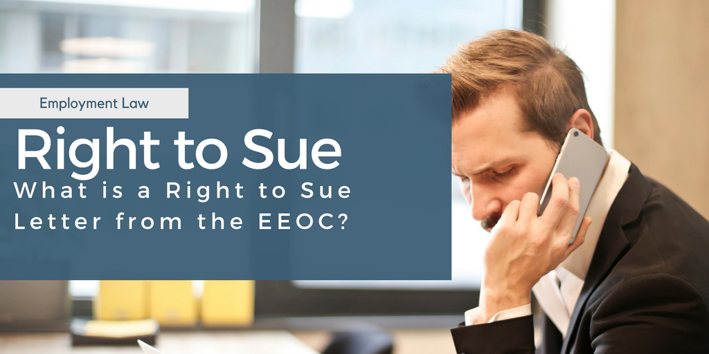 right to sue letter from eeoc