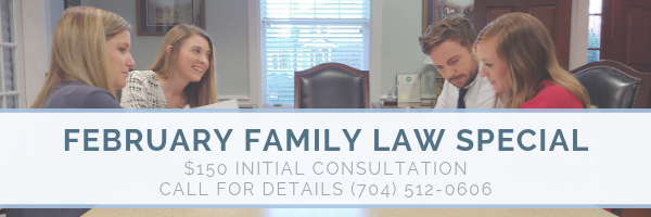 February Family Law special Charlotte, NC