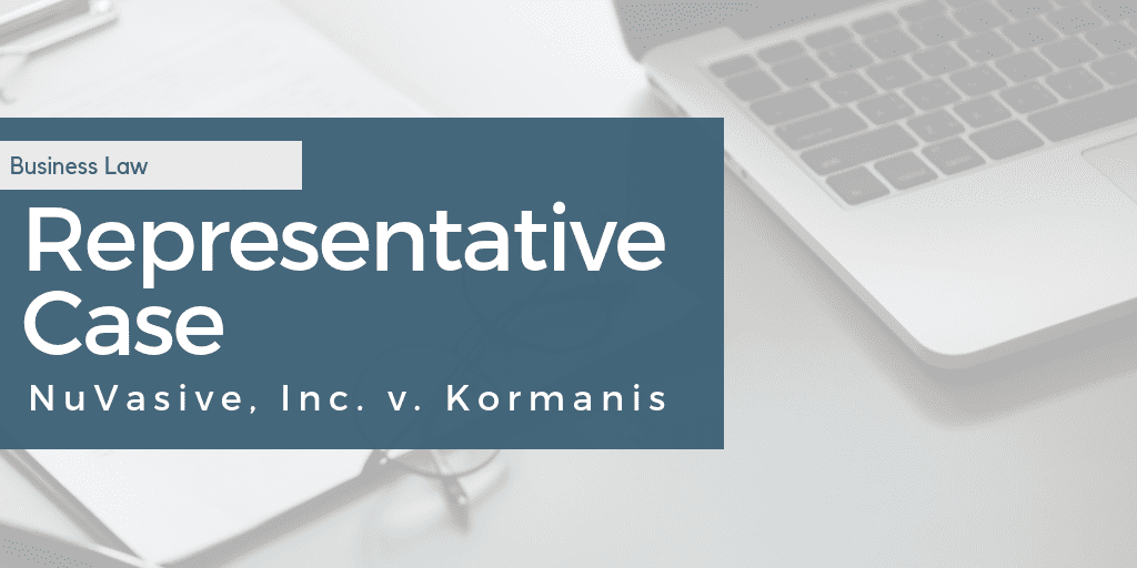 NuVasive, Inc. v. Kormanis