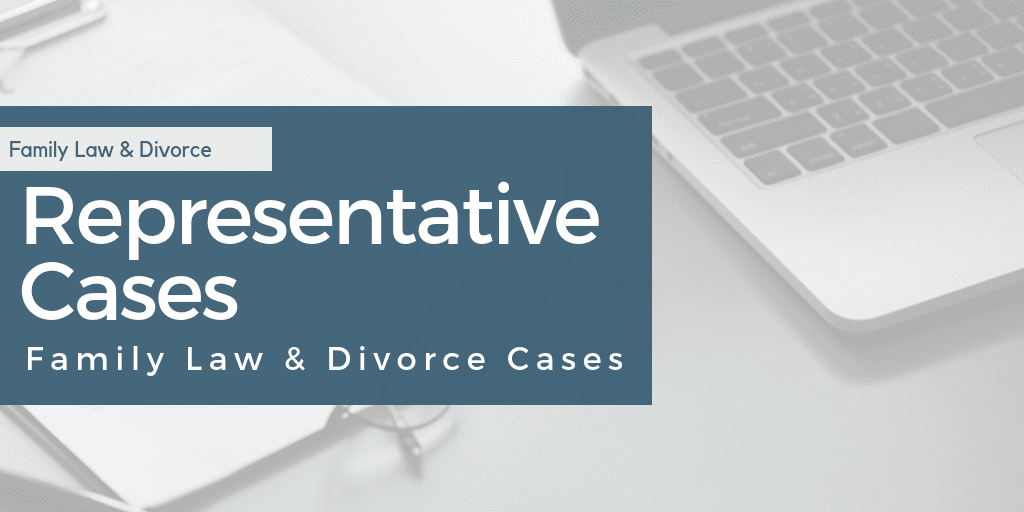 Family Law and Divorce in Charlotte