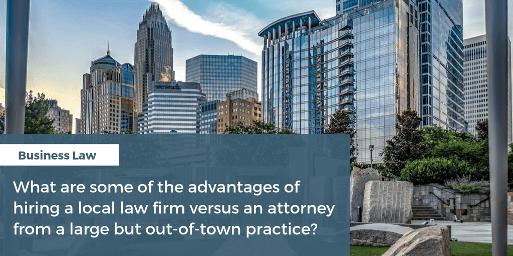 hiring a local law firm