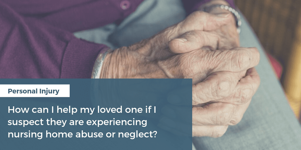 Nursing Home Abuse or Neglect in North Carolina
