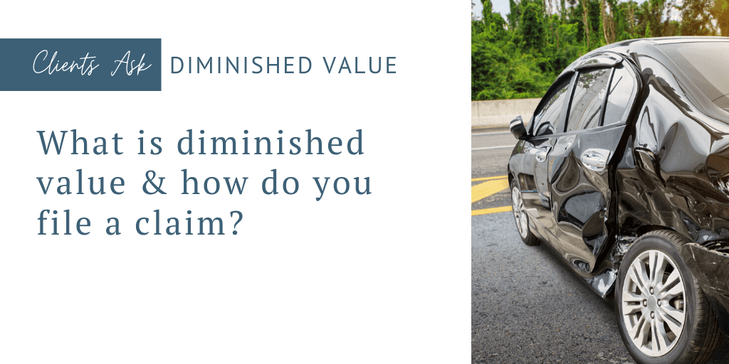 diminished value