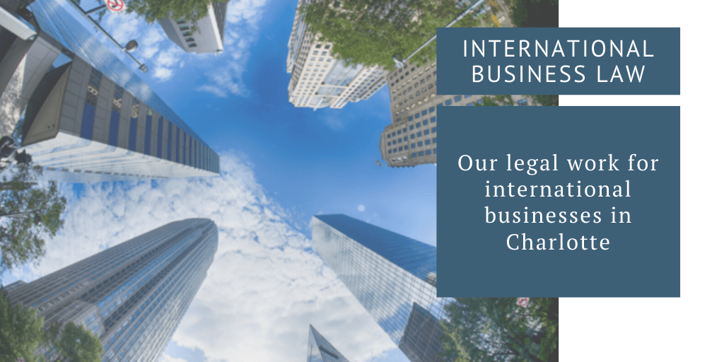 international business charlotte