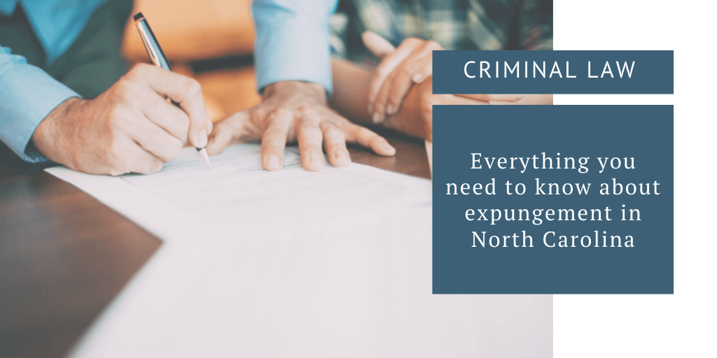 expungement in north carolina