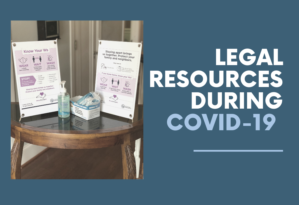 COVID-19 NC Legal Resources