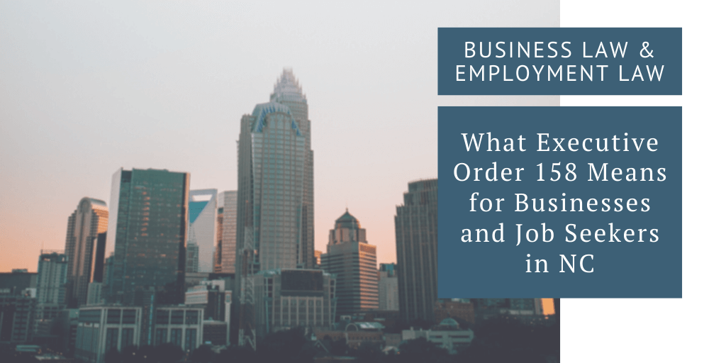business law employment law north carolina