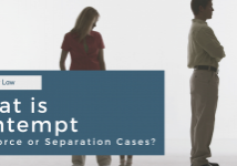 What Is Contempt In Divorce or Separation Cases? SeiferFlatow in Charlotte, NC