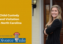 Missy Foard on NC Divorce Info podcast for Child Custody in NC